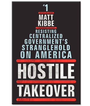 Hostile Takeover Paperback Book