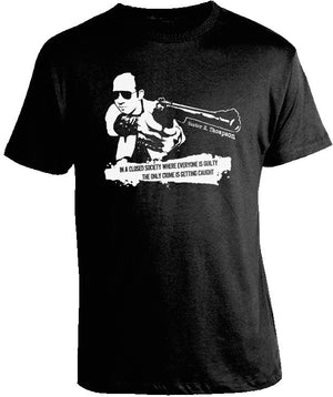 Hunter S. Thompson Gun Shirt