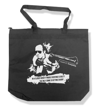 Hunter S. Thompson Tote Bag by Libertarian Country