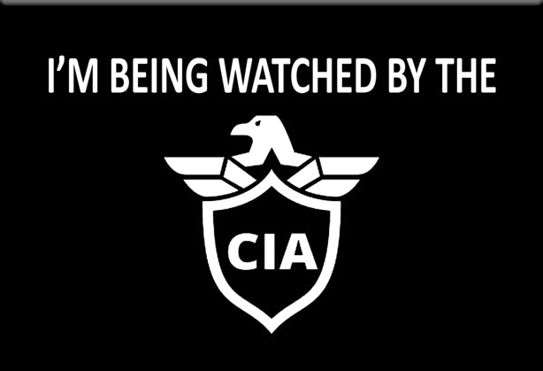 I'm Being Watched by the CIA Magnet by Libertarian Country