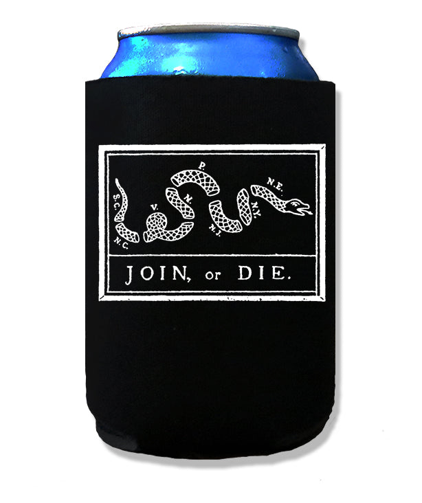 Join or Die Koozie by Libertarian Country
