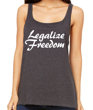 Legalize Freedom Premium Women's Tank Top by Libertarian Country