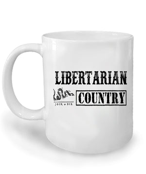 Libertarian Country Mug