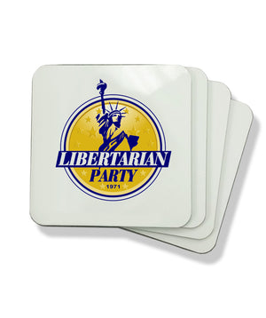 Libertarian Party Coasters