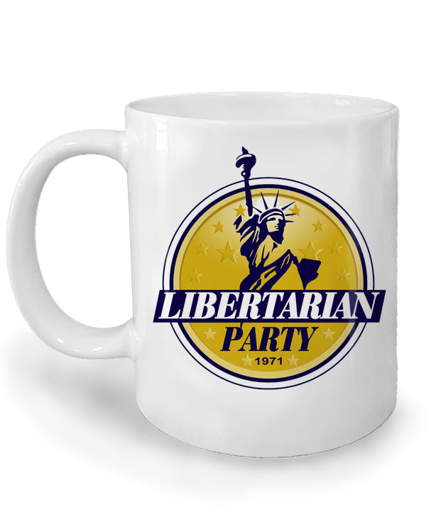 Libertarian Party Ceramic Mug