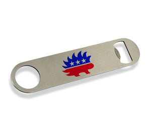 Libertarian Porcupine Bottle Opener by Libertarian Country