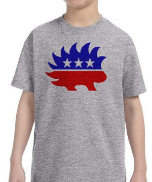 Libertarian Porcupine Youth T-Shirt by Libertarian Country