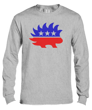 Libertarian Porcupine Long Sleeve Shirt