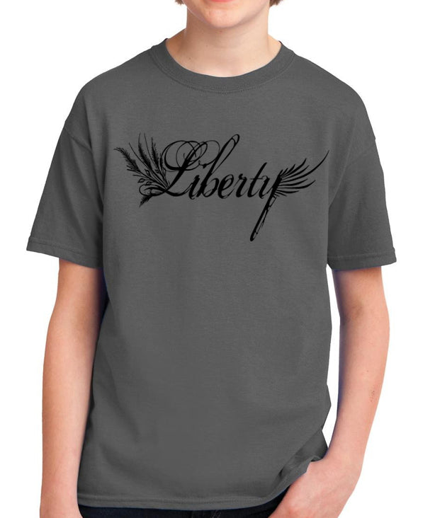 Liberty Youth T Shirt Libertarian Country