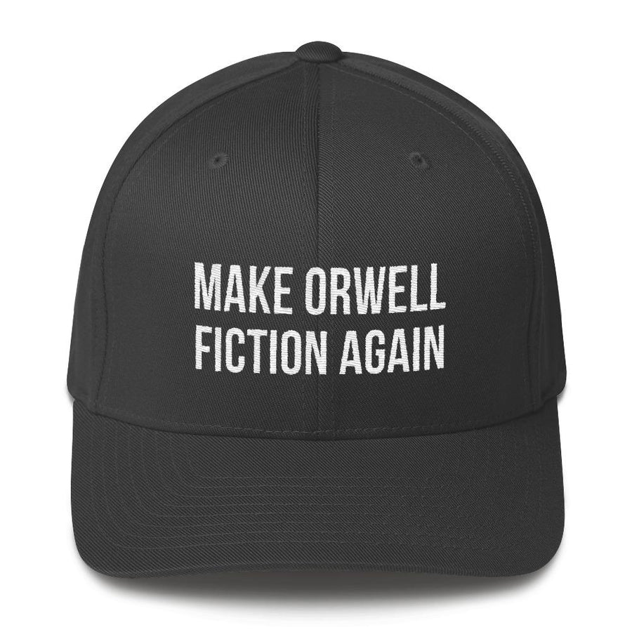 Make Orwell Fiction Again Hat by Libertarian Country