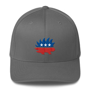 Libertarian Porcupine Structured Twill Cap