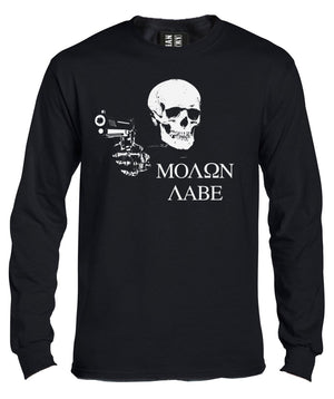 Molon Labe Long Sleeve Shirt