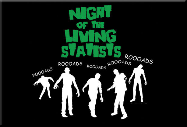 Night of the Living Statists Magnet by Libertarian Country