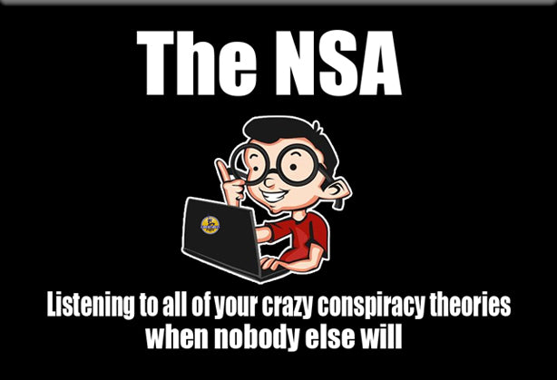NSA Conspiracy Theory Humor Magnet