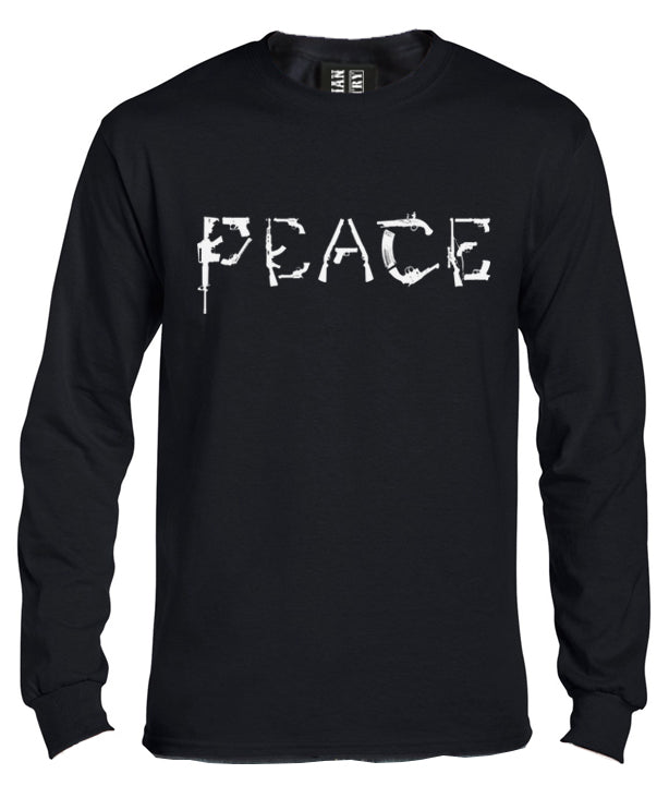 Peace Gun Long Sleeve Shirt by Libertarian Country