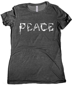 Peace Gun Women's Tee by Libertarian Country