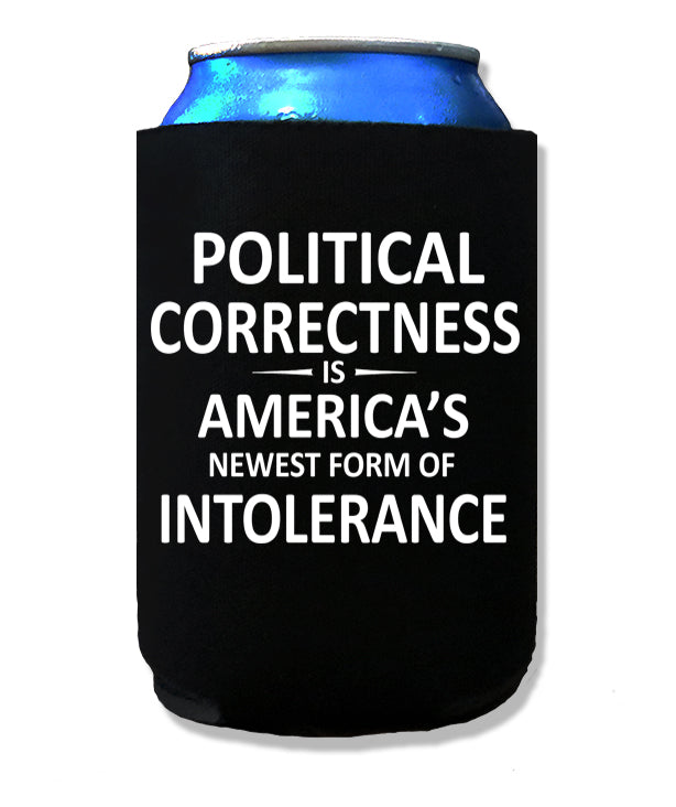 George Carlin Political Correctness Koozie by Libertarian Country