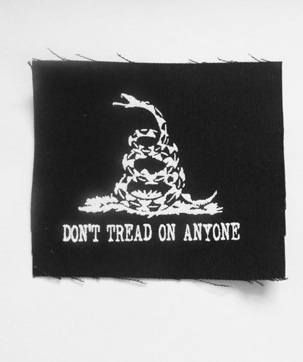 Don't Tread on Anyone Patch