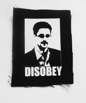 Edward Snowden Disobey Patch