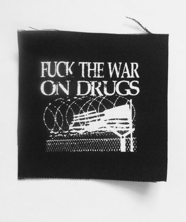 Fuck the War on Drugs Patch by Libertarian Country