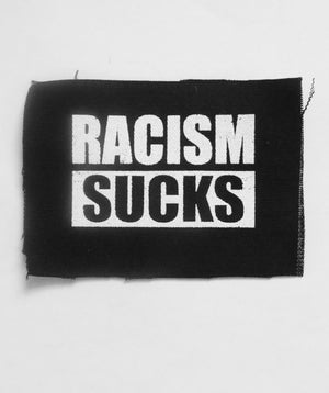 Racism Sucks Patch by Libertarian Country