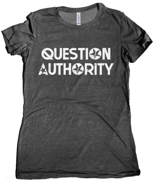 Question Authority Women's Tee by Libertarian Country