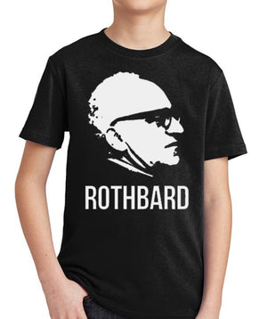 Rothbard Youth T-Shirt by Libertarian Country