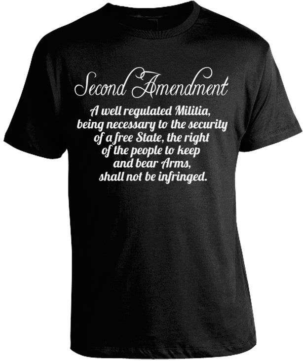 Second Amendment Shirt by Libertarian Country