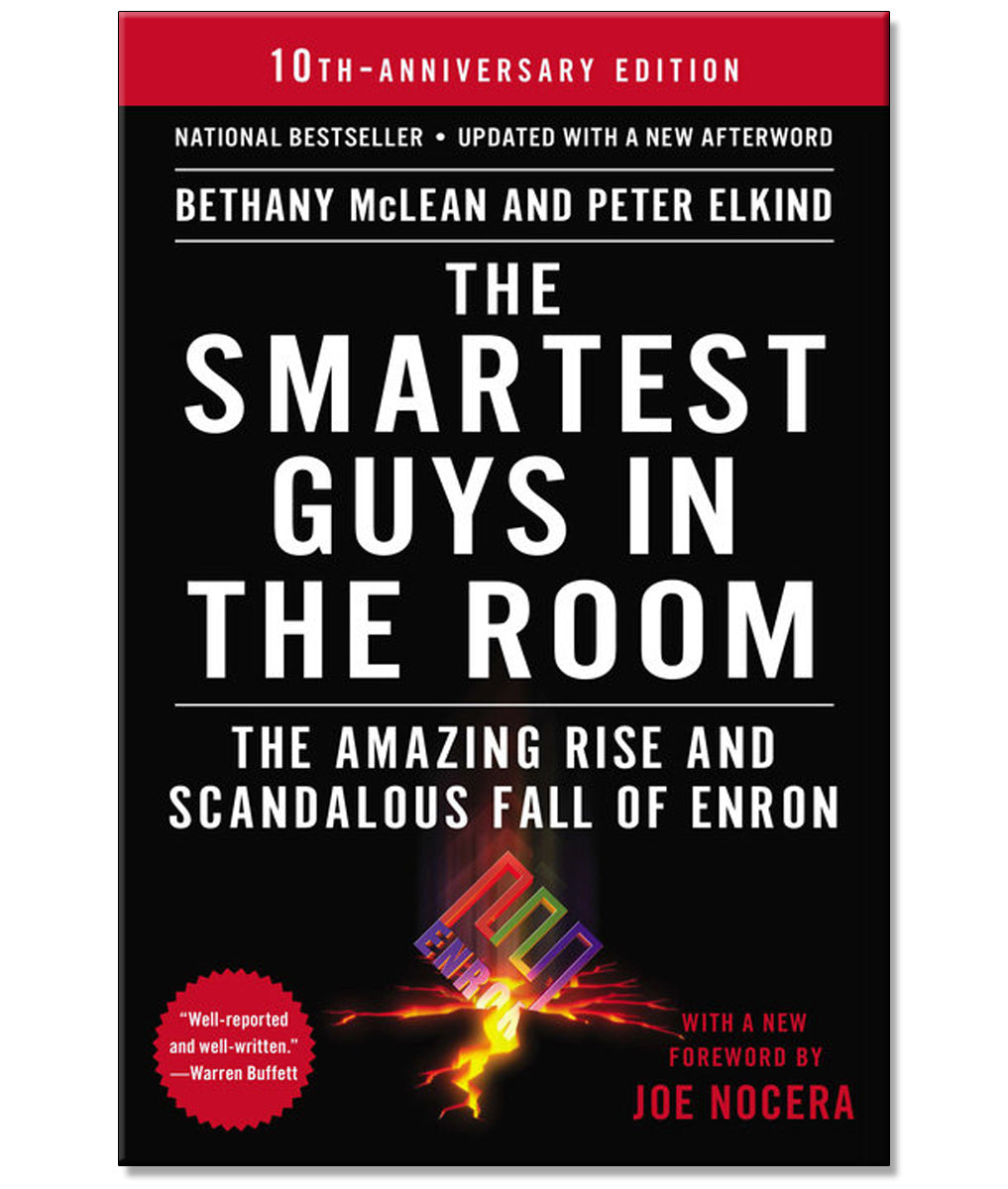 The Smartest Guys in the Room Paperback Book