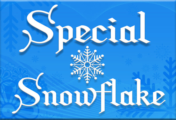 Special Snowflake Magnet by Libertarian Country