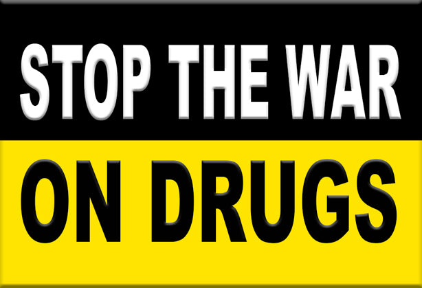 Stop the War on Drugs Magnet by Libertarian Country