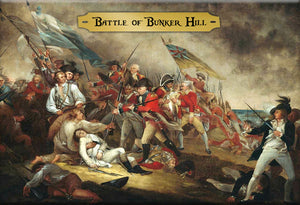 The Battle of Bunker Hill Magnet by Libertarian Country