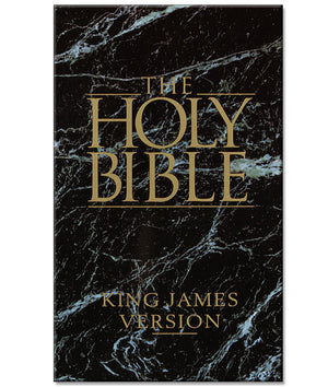 The Holy Bible KJV Paperback Book