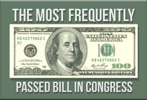 The Most Frequently Passed Bill in Congress Magnet