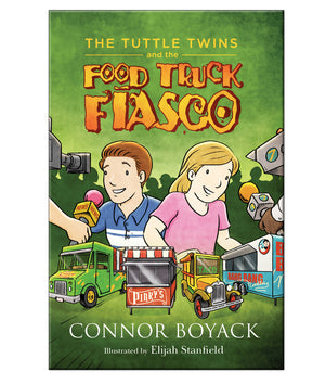 The Tuttle Twins and The Food Truck Fiasco Paperback Book
