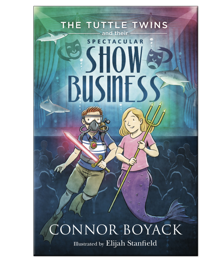 The Tuttle Twins and Their Spectacular Show Business Paperback Book