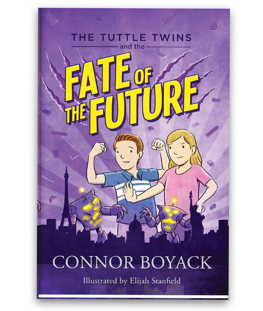 The Tuttle Twins and The Fate of the Future Paperback Book