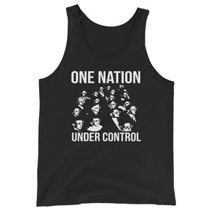 One Nation Under Control Premium Tank Top by Libertarian Country
