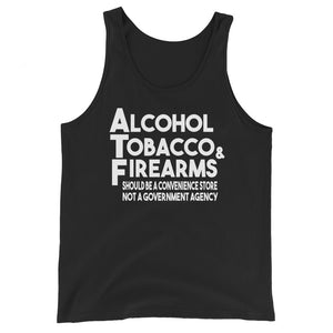 ATF Premium Tank Top by Libertarian Country