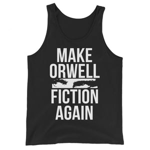 Make Orwell Fiction Again Premium Tank Top by Libertarian Country