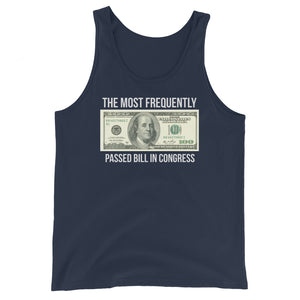 Most Frequently Passed Bill Premium Tank Top by Libertarian Country