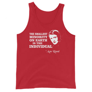 Ayn Rand Quote Premium Tank Top by Libertarian Country