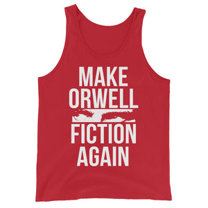 Make Orwell Fiction Again Premium Tank Top