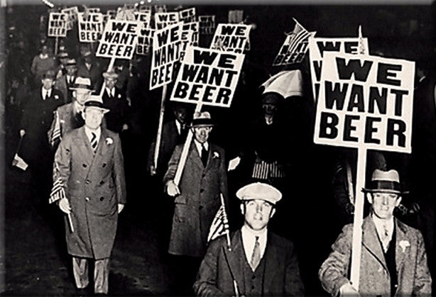 We Want Beer Magnet by Libertarian Country