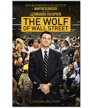 The Wolf of Wall Street Book by Jordan Belfort