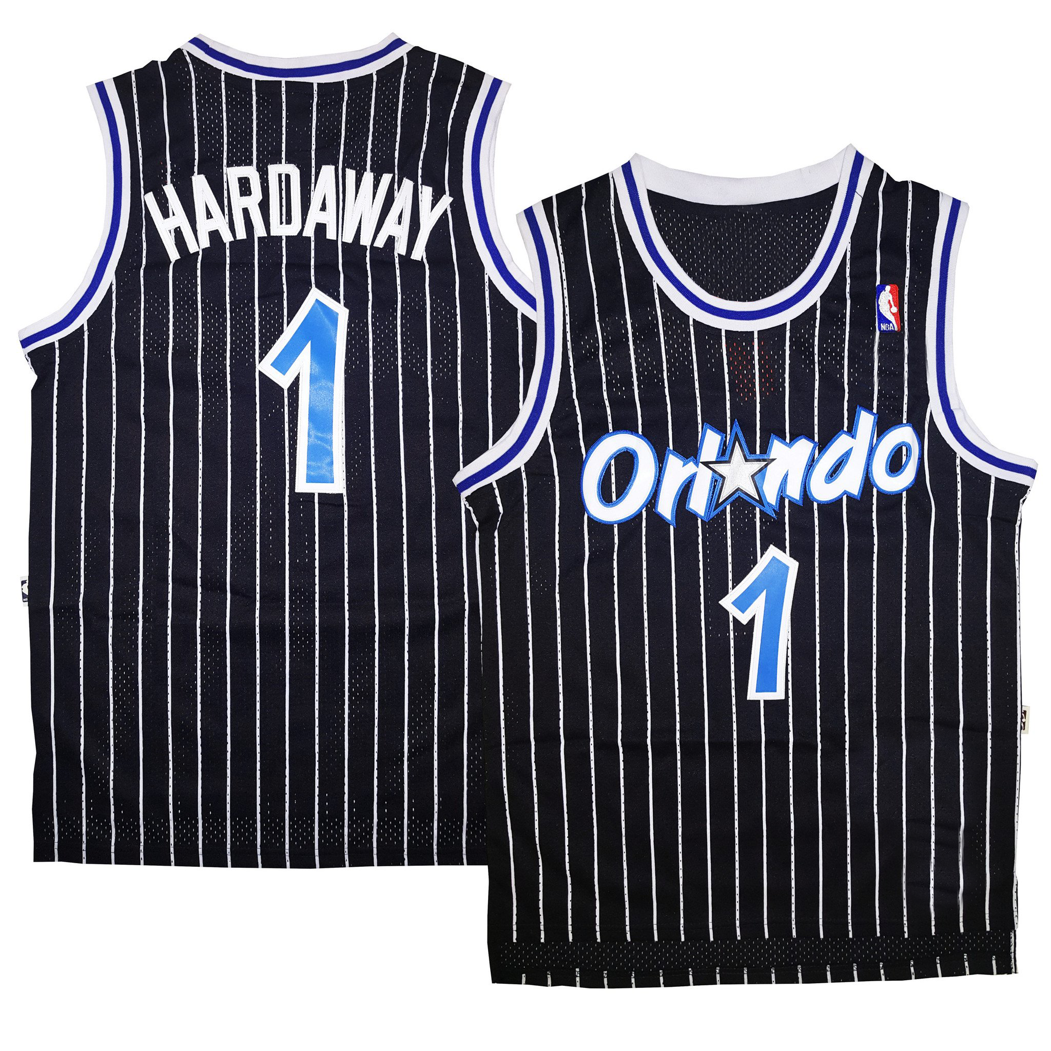 78a704aa2 ... Black Pinstriped Orlando 2017 New Cheap Wilt Chamberlain 13 Harlem  Globetrotters Throwback Basketball Jersey Blue Retro Stitched ...