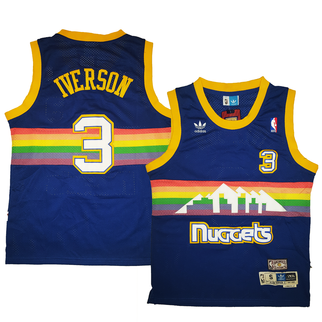 Nuggets Jersey Rainbow: Basketball Throwback Jerseys