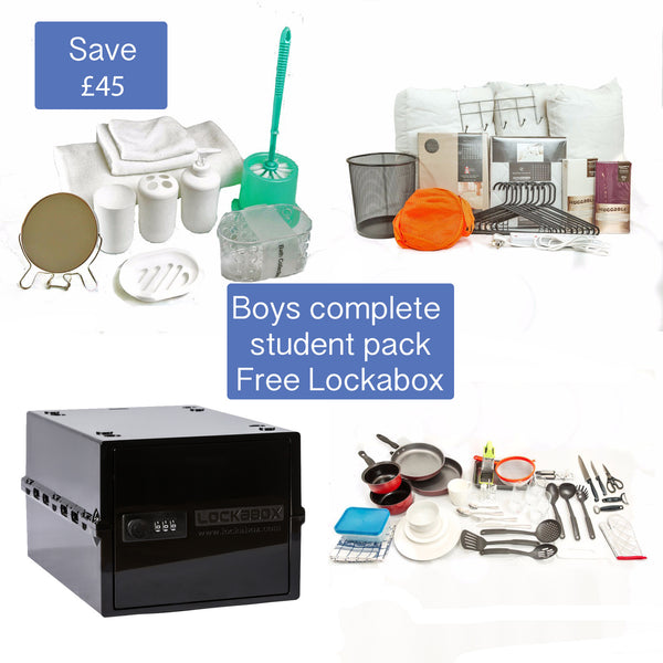 The complete pack Boys Free LockaBox