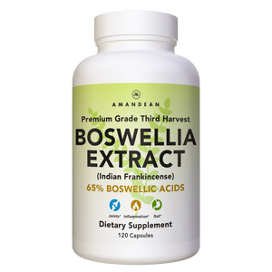 Vegan-friendly Boswellia Extract. 65% boswellic acids