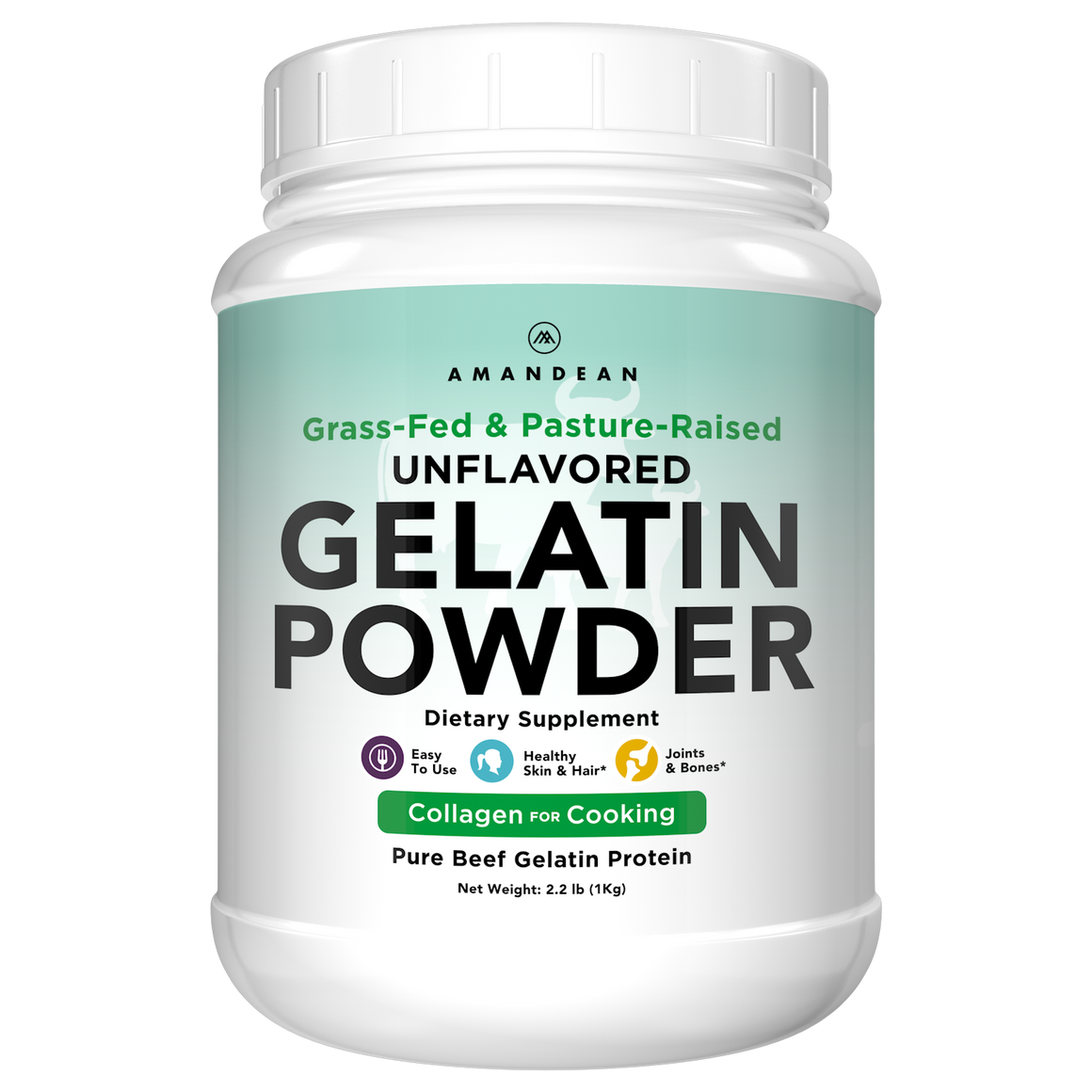 Premium Grass-Fed Gelatin Powder (1kg)